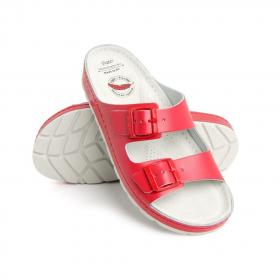 Sandale Zenna rouge Batz