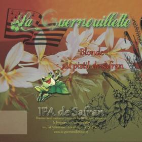 Guernouillette Blonde au Safran - IPA -