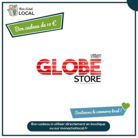 Bon Cadeau 10€ - Globe Store -