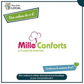 Bon cadeau 10€ - Mille conforts -