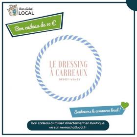 Bon Cadeau 10€ - Le dressing à carreaux -