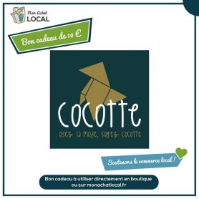 Bon Cadeau 10€ - Cocotte -
