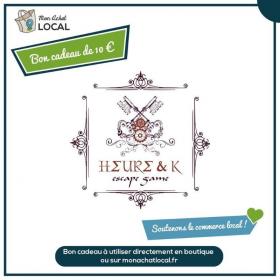 Bon Cadeau 10€ - Heure&K Escape Game -