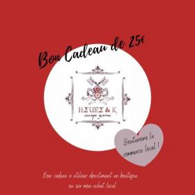 Bon Cadeau de 25€ - Heure&K Escape Game