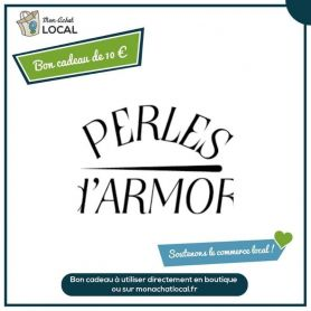 Bon Cadeau 10€ - Perles d'Armor -