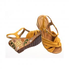 Sandale Milano fleurie gabor